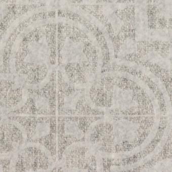 ウール×幾何学模様(ライトグレー)×ツイードフロッキー サムネイル1