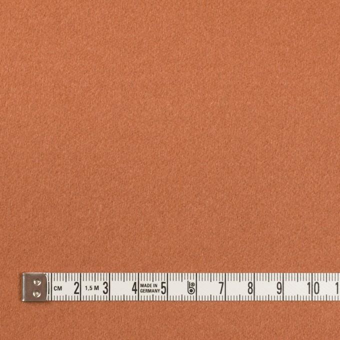 ウール&カシミア×無地(パーシモンオレンジ)×ビーバー イメージ4