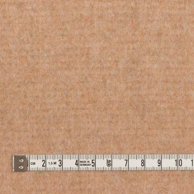 ウール&アクリル混×無地(オレンジ&ベージュ)×Wフェイス・フリース イメージ6