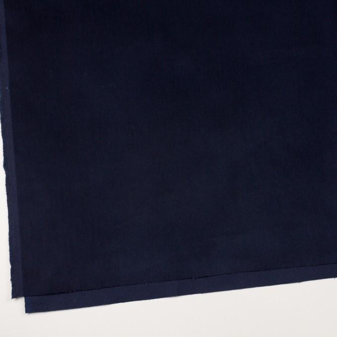 コットン&ポリウレタン×無地(ネイビー)×中細コーデュロイ・ストレッチ_全4色 イメージ2
