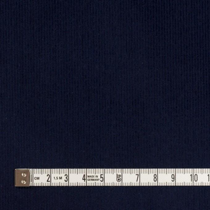 コットン&ポリウレタン×無地(ネイビー)×中細コーデュロイ・ストレッチ_全4色 イメージ4
