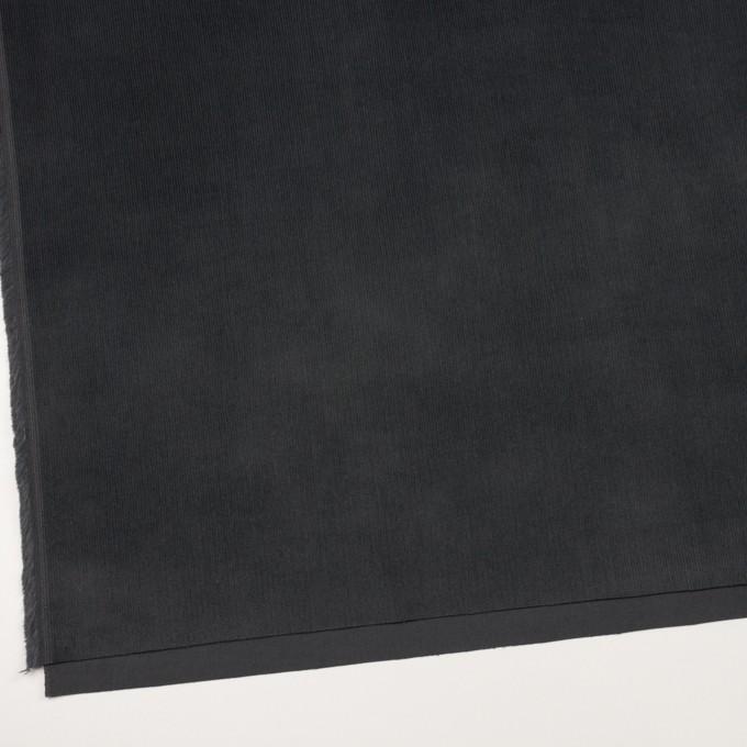 コットン&ポリウレタン×無地(チャコール)×中細コーデュロイ・ストレッチ_全4色 イメージ2