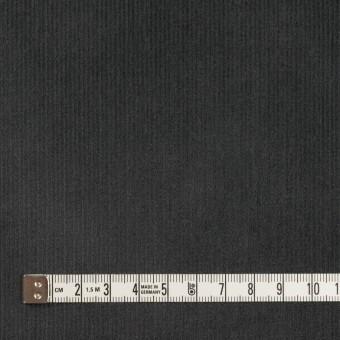 コットン&ポリウレタン×無地(チャコール)×中細コーデュロイ・ストレッチ_全4色 サムネイル4