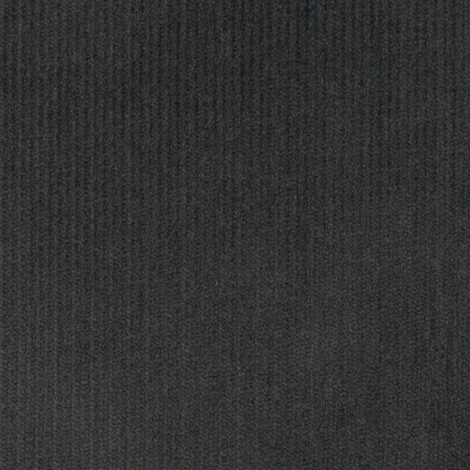コットン&ポリウレタン×無地(チャコール)×中細コーデュロイ・ストレッチ_全4色 イメージ1
