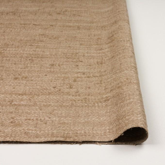シルク×無地(セピア)×かわり織 イメージ3