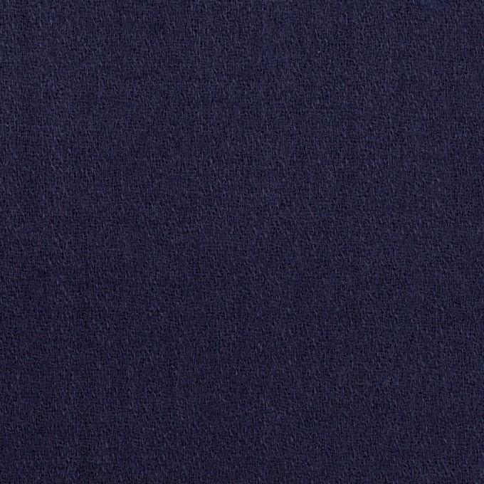 ウール×無地(プルシアンブルー)×ジョーゼット イメージ1