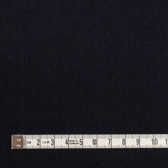 ウール×無地(ダークネイビー)×ジョーゼット サムネイル4