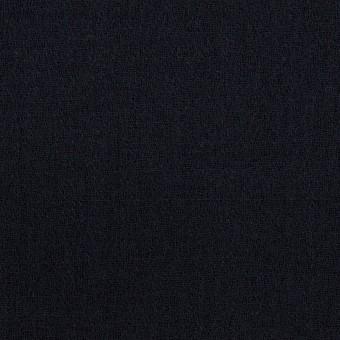 【120cmカット】ウール×無地(ダークネイビー)×ジョーゼット