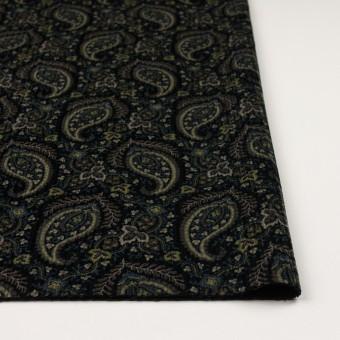 コットン×ペイズリー(ブラック、アボカド&ブルーグレー)×太コーデュロイ サムネイル3
