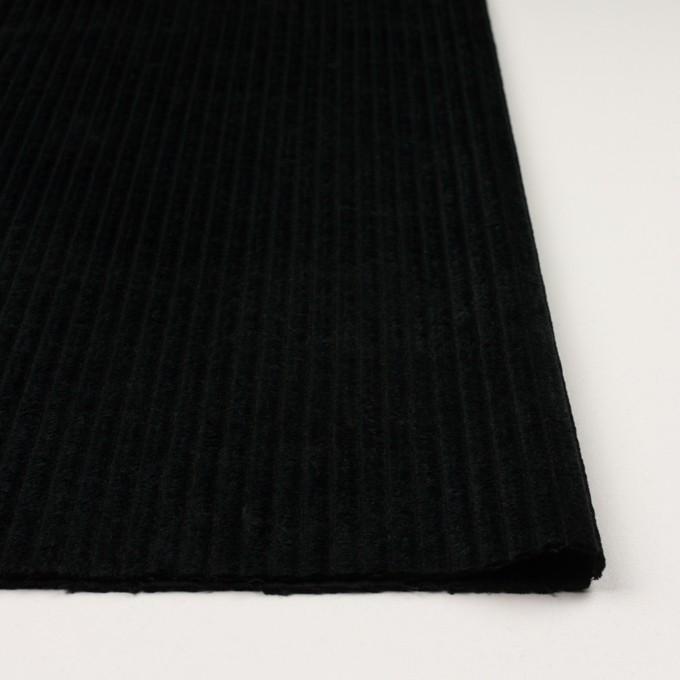 コットン×無地(ブラック)×極太コーデュロイ イメージ3