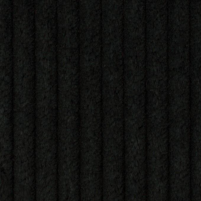 コットン×無地(ブラック)×極太コーデュロイ イメージ1