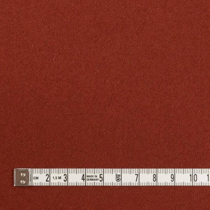 ウール×無地(レンガ)×フラノ(フランネル) イメージ4