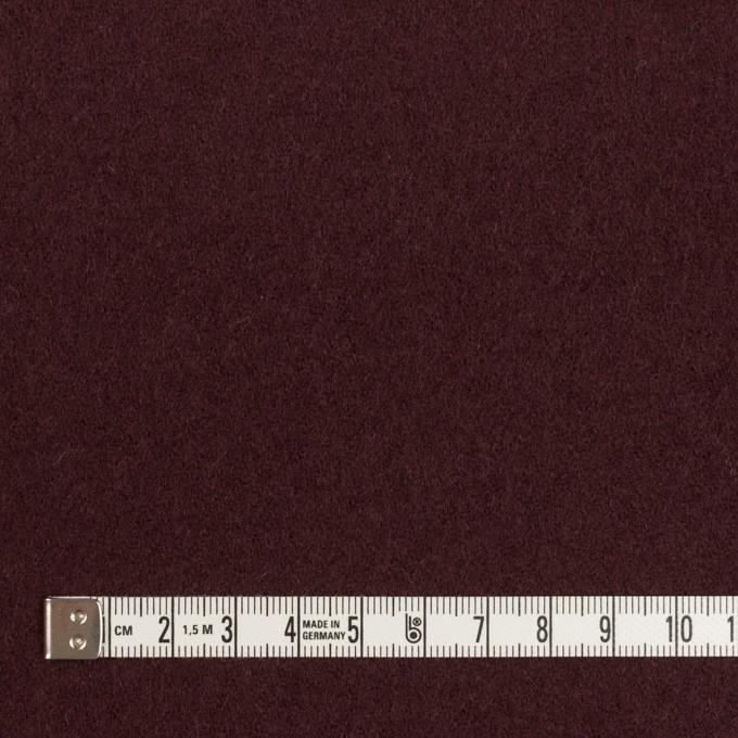 ウール×無地(レーズン)×ソフトメルトン イメージ4