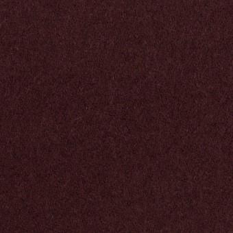 ウール×無地(レーズン)×ソフトメルトン サムネイル1
