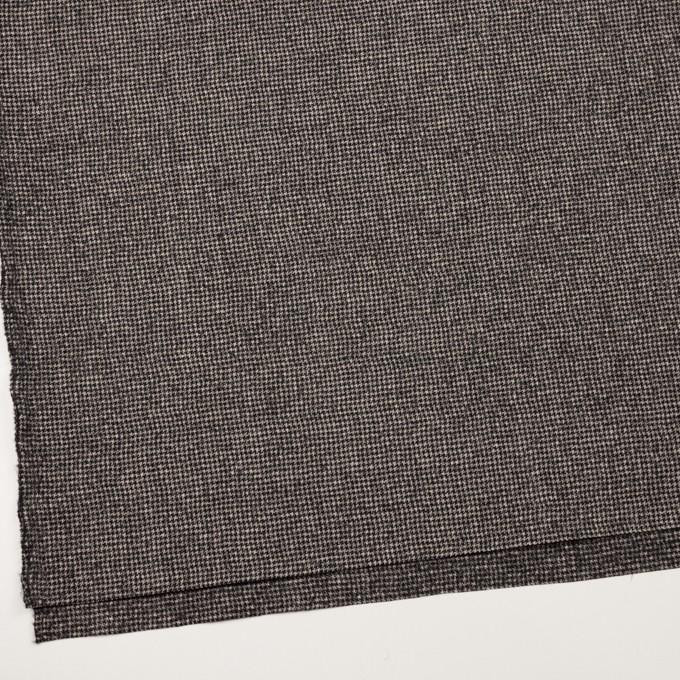 ウール×チェック(ブラック&エクリュ)×千鳥格子 イメージ2