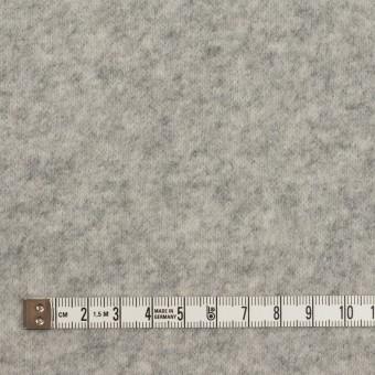 アクリル&ウール混×無地(ライトグレー)×W天竺ニット サムネイル4