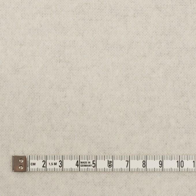 アクリル&ウール混×無地(ライトグレー)×W天竺ニット イメージ6