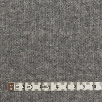 ウール×無地(サックスグレー&チャコールグレー)×W天竺ニット サムネイル6
