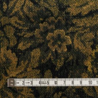 コットン×ボタニカル(オーカー&ディープグリーン)×ドビーコーデュロイ_全5色 サムネイル4