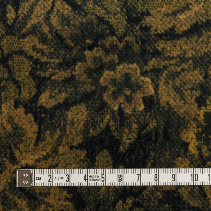 コットン×ボタニカル(オーカー&ディープグリーン)×ドビーコーデュロイ_全5色 イメージ4