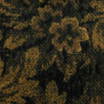 コットン×ボタニカル(オーカー&ディープグリーン)×ドビーコーデュロイ_全5色 サムネイル1