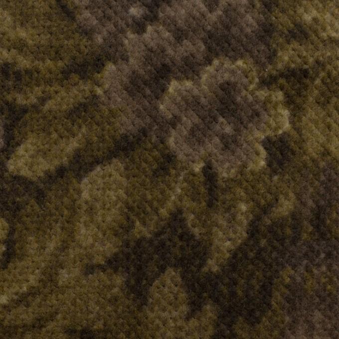 コットン×ボタニカル(グレイッシュパープル&カーキ)×ドビーコーデュロイ_全5色 イメージ1