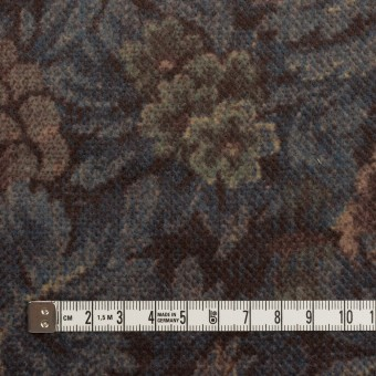 コットン×ボタニカル(レーズン&ブルーグレー)×ドビーコーデュロイ_全5色 サムネイル4