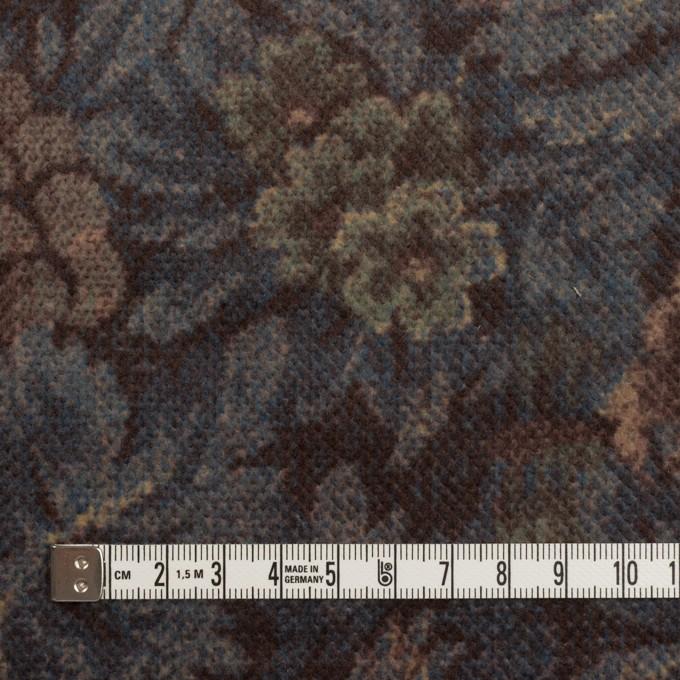 コットン×ボタニカル(レーズン&ブルーグレー)×ドビーコーデュロイ_全5色 イメージ4