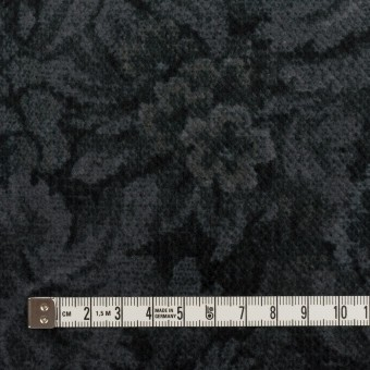 コットン×ボタニカル(グレー&ダークネイビー)×ドビーコーデュロイ_全5色 サムネイル4