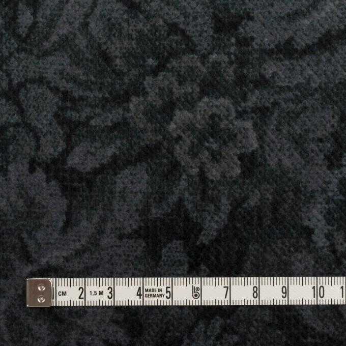 コットン×ボタニカル(グレー&ダークネイビー)×ドビーコーデュロイ_全5色 イメージ4