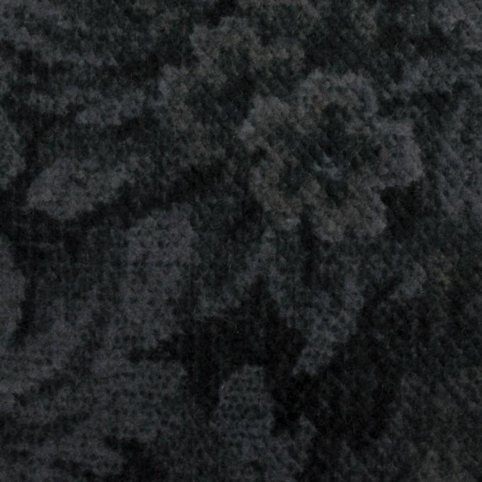 コットン×ボタニカル(グレー&ダークネイビー)×ドビーコーデュロイ_全5色 イメージ1