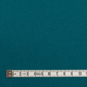 ウール×無地(エメラルドブルー)×カルゼ サムネイル4