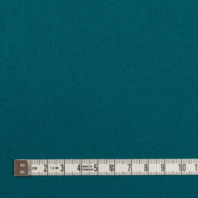 ウール×無地(エメラルドブルー)×カルゼ イメージ4