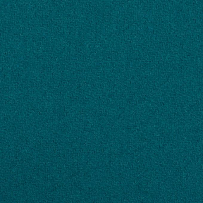 ウール×無地(エメラルドブルー)×カルゼ イメージ1