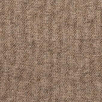 ウール×無地(オートミール)×天竺ニット サムネイル1