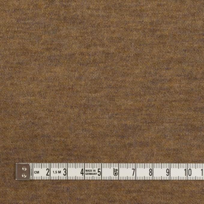 ウール&ナイロン×無地(ジンジャー)×圧縮ニット イメージ4