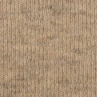 コットン&ウール混×無地(オートミール)×Wニット_全2色 サムネイル1