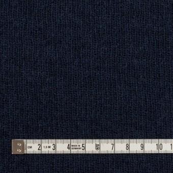 コットン&ウール混×無地(ネイビー)×Wニット_全2色 サムネイル4