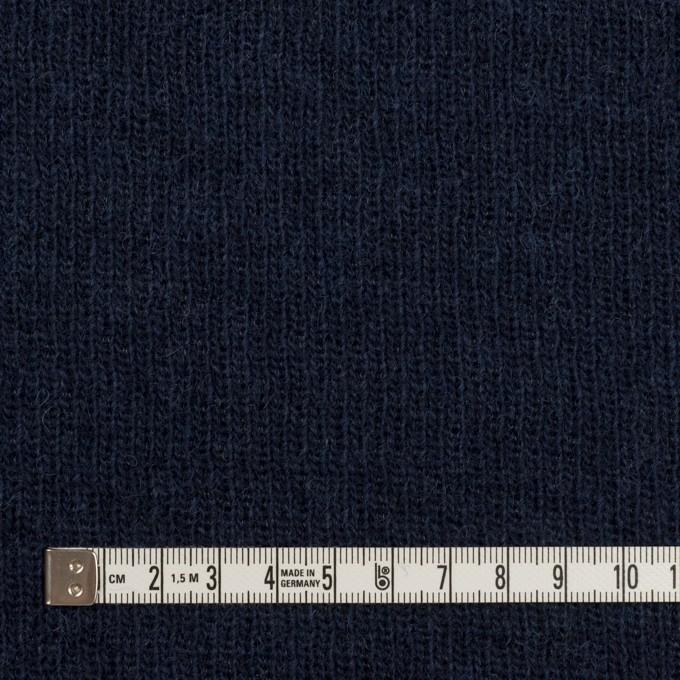 コットン&ウール混×無地(ネイビー)×Wニット_全2色 イメージ4