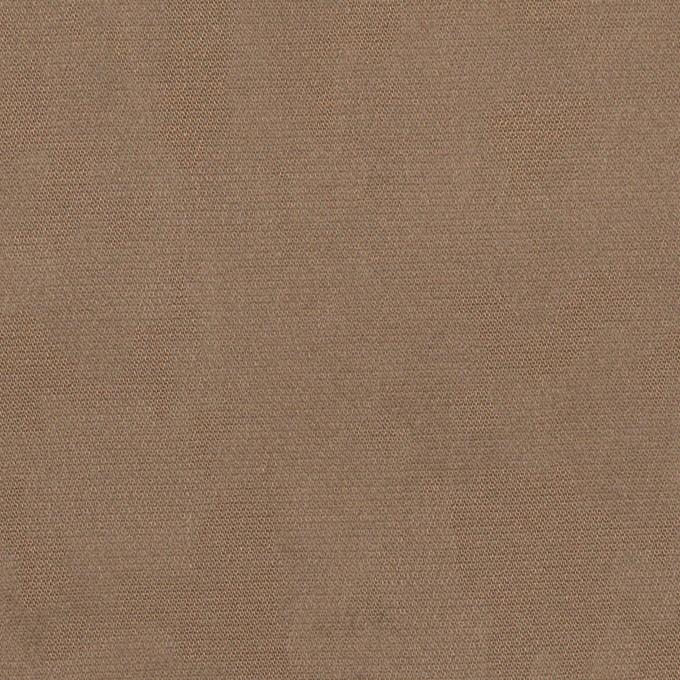 コットン&レーヨン混×幾何学模様(カーキベージュ)×ジャガード・ストレッチ イメージ1