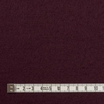 ウール×無地(レーズン)×圧縮ニット サムネイル4