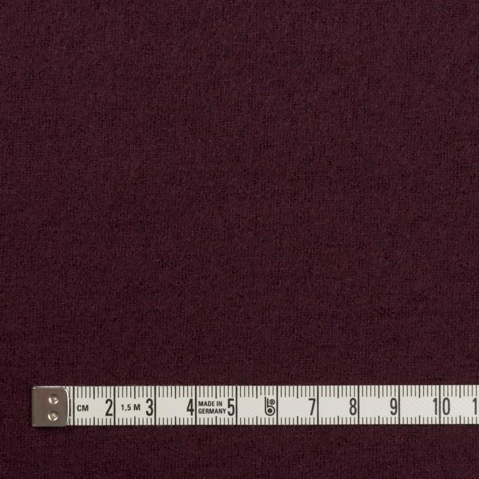 ウール×無地(レーズン)×圧縮ニット イメージ4