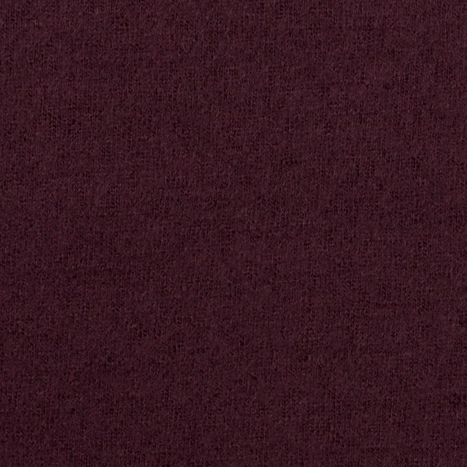 ウール×無地(レーズン)×圧縮ニット イメージ1