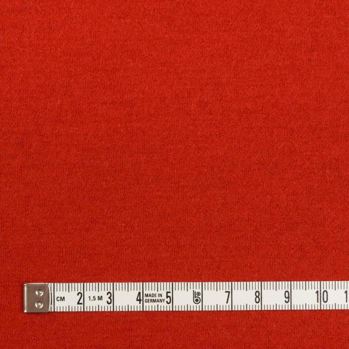 ウール×無地(パッションレッド)×圧縮ニット_全3色 イメージ4
