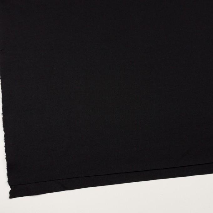 ウール×無地(ブラック)×圧縮ニット_全3色 イメージ2