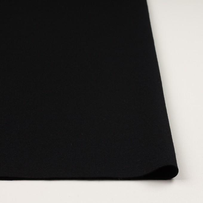 ウール×無地(ブラック)×圧縮ニット_全3色 イメージ3