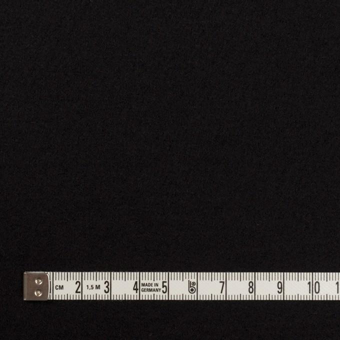 ウール×無地(ブラック)×圧縮ニット_全3色 イメージ4