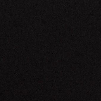 【100cmカット】ウール×無地(ブラック)×圧縮ニット_全3色