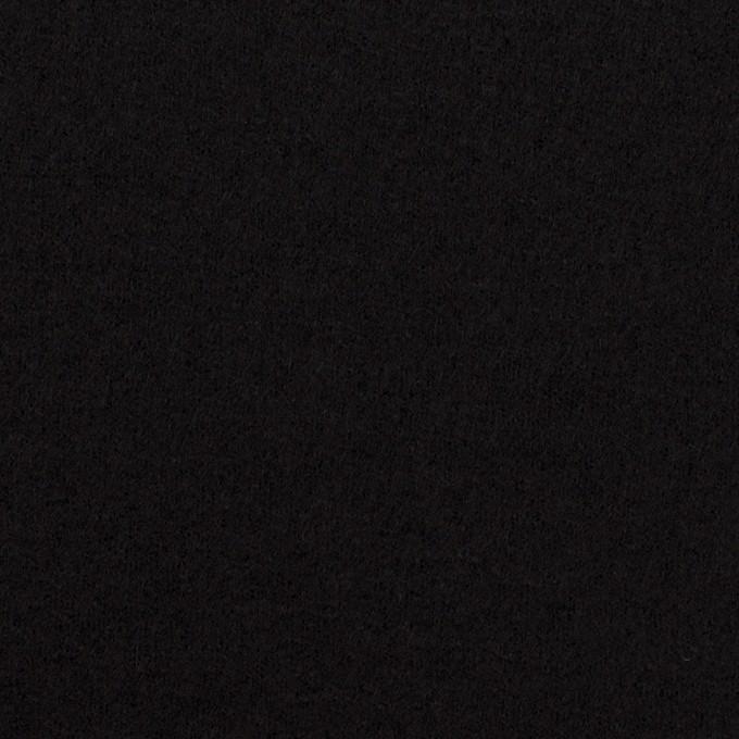 ウール×無地(ブラック)×圧縮ニット_全3色 イメージ1