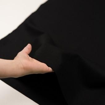 ウール×無地(ブラック)×圧縮ニット_全3色 サムネイル5